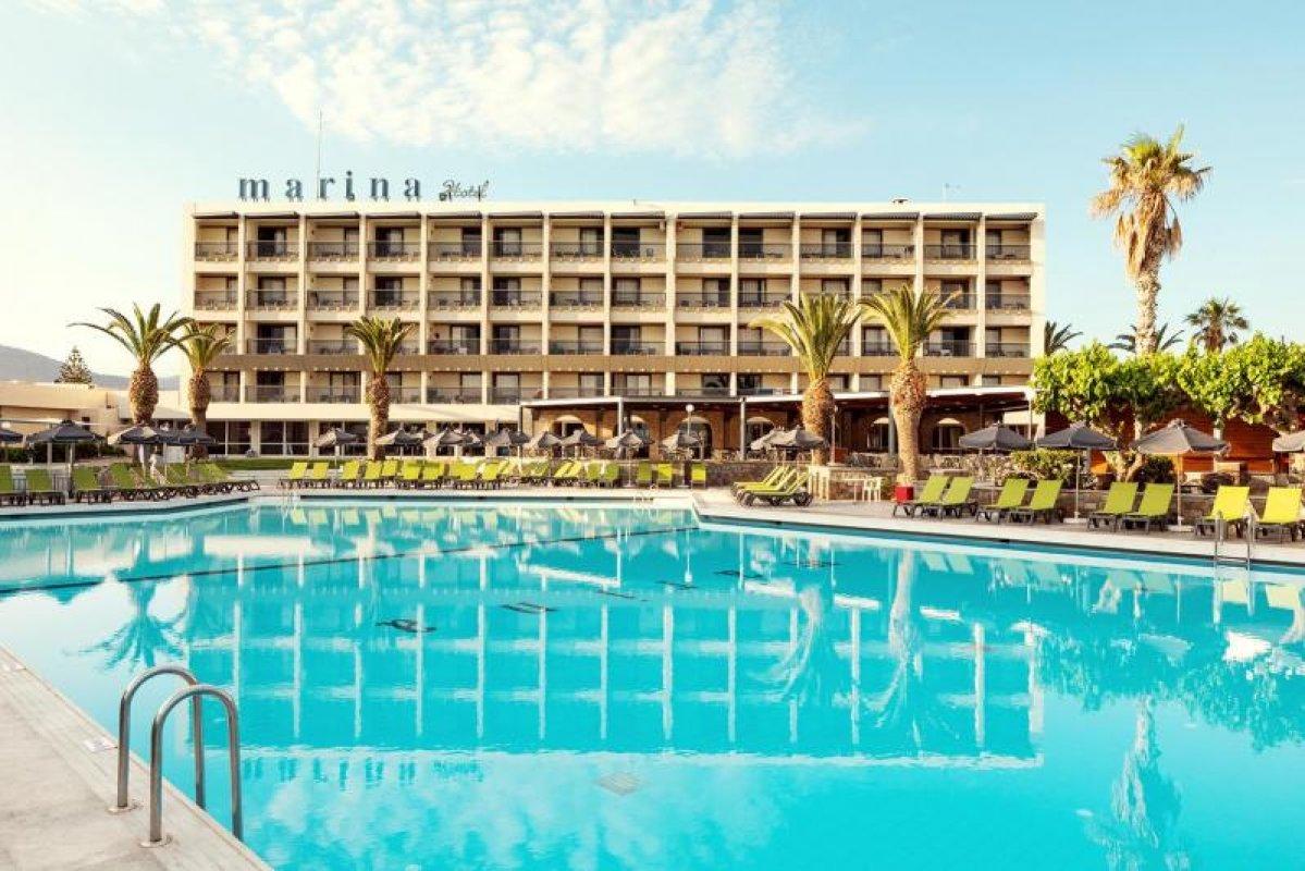 ZEUS HOTELS MARINA BEACH 4* - posebno letalo iz Ljubljane (maj)
